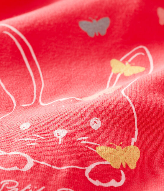 Baby Girls' Long-Sleeved Blouse Groseiller pink