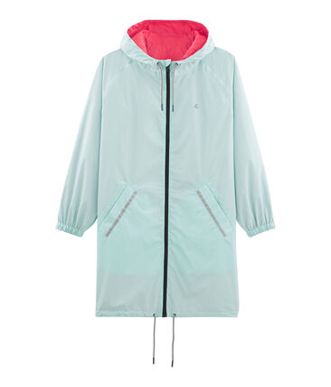 Women's reversible long windbreaker