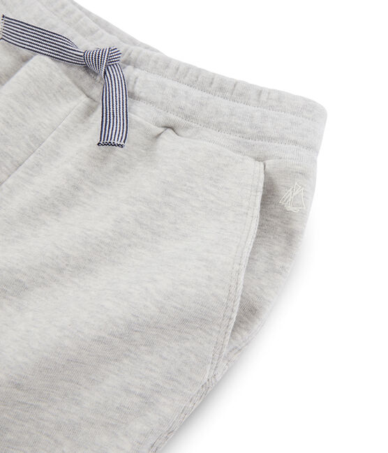 Boys' Knit Trousers Beluga grey