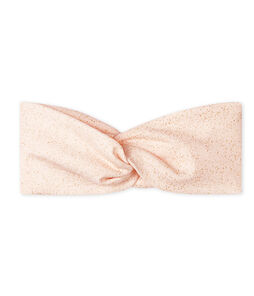 Baby Girls' Headband Fleur pink / Or yellow