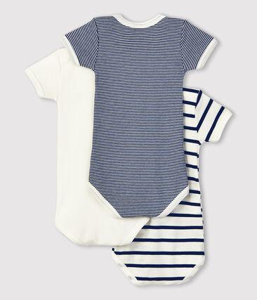 Babies' Short-Sleeved Bodysuit - 3-Piece Set . set