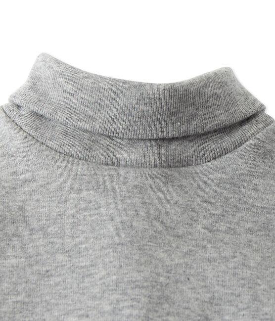 Mixed baby's roll neck body Subway grey