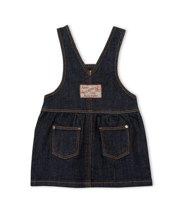 Baby girls' jean dungarees/dress