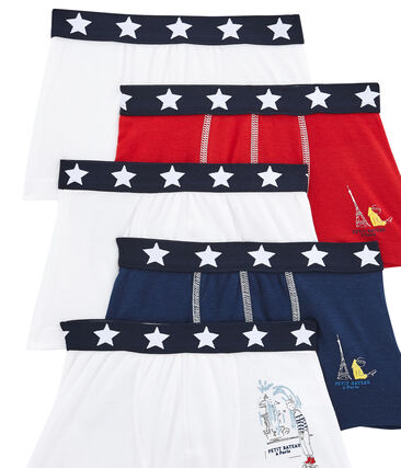 Set of 5 little boy's boxers
