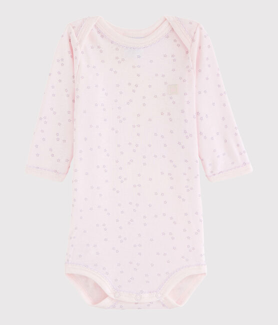 Baby Girls' Long-Sleeved Bodysuit VIENNE/SILENE