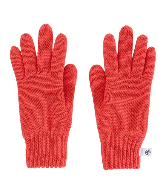 Boys' Gloves Signal red