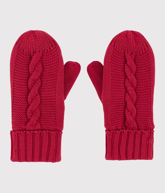Boys' /Girl's Mittens Terkuit red