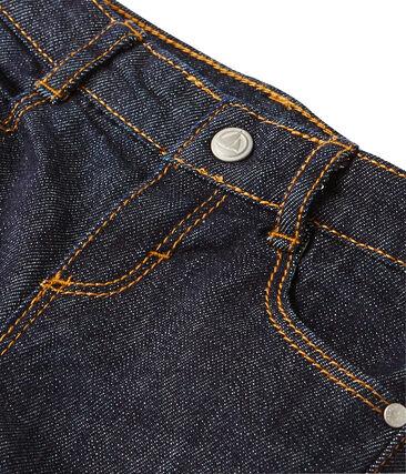 Unisex baby slim-fit jeans