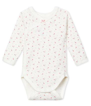Baby Girls' Long-Sleeved Newborn Bodysuit