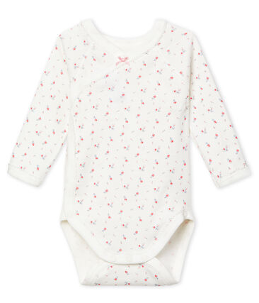 Baby Girls' Long-Sleeved Newborn Bodysuit