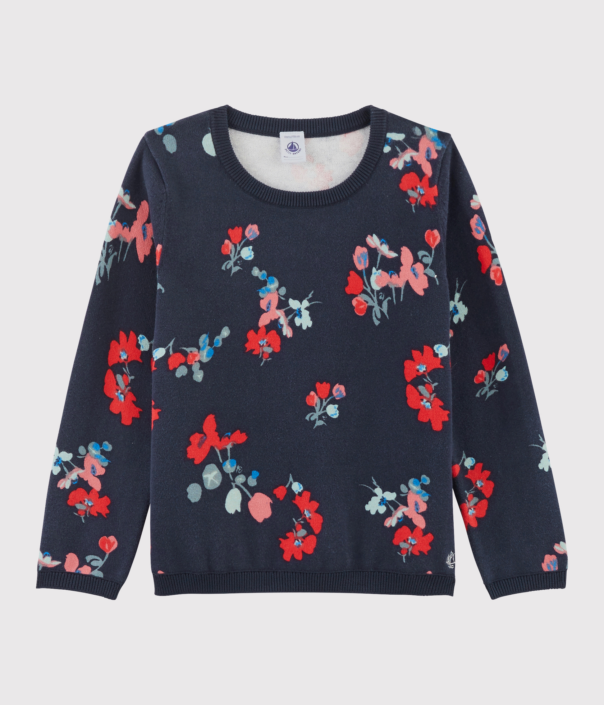Girls' Cotton Pullover