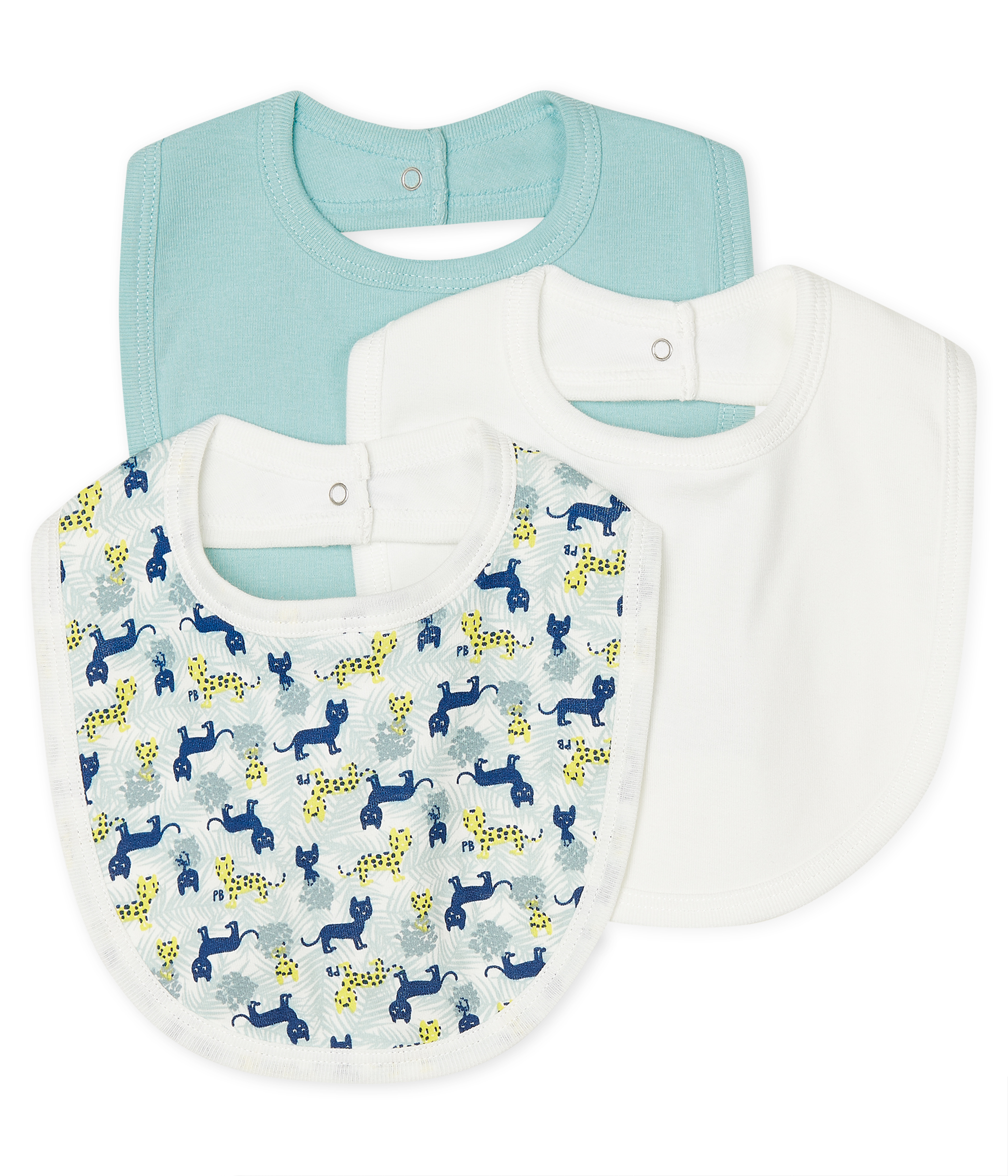 Baby Boys' Bibs - 3-Piece Set