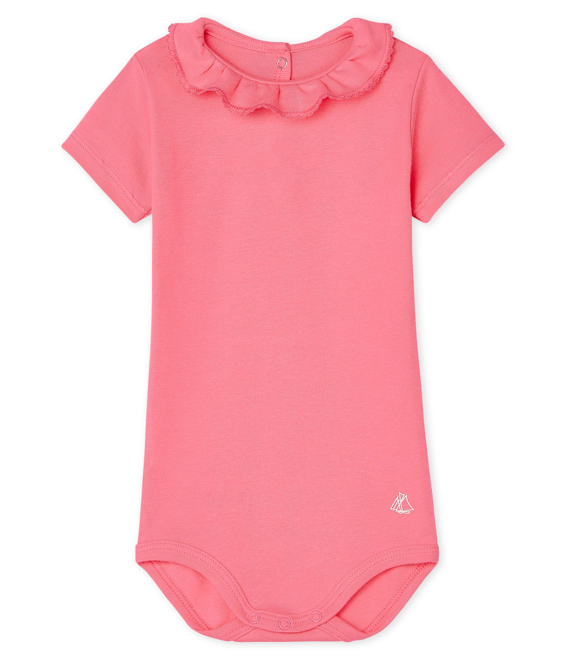 Baby Girls' Dress with Ruff