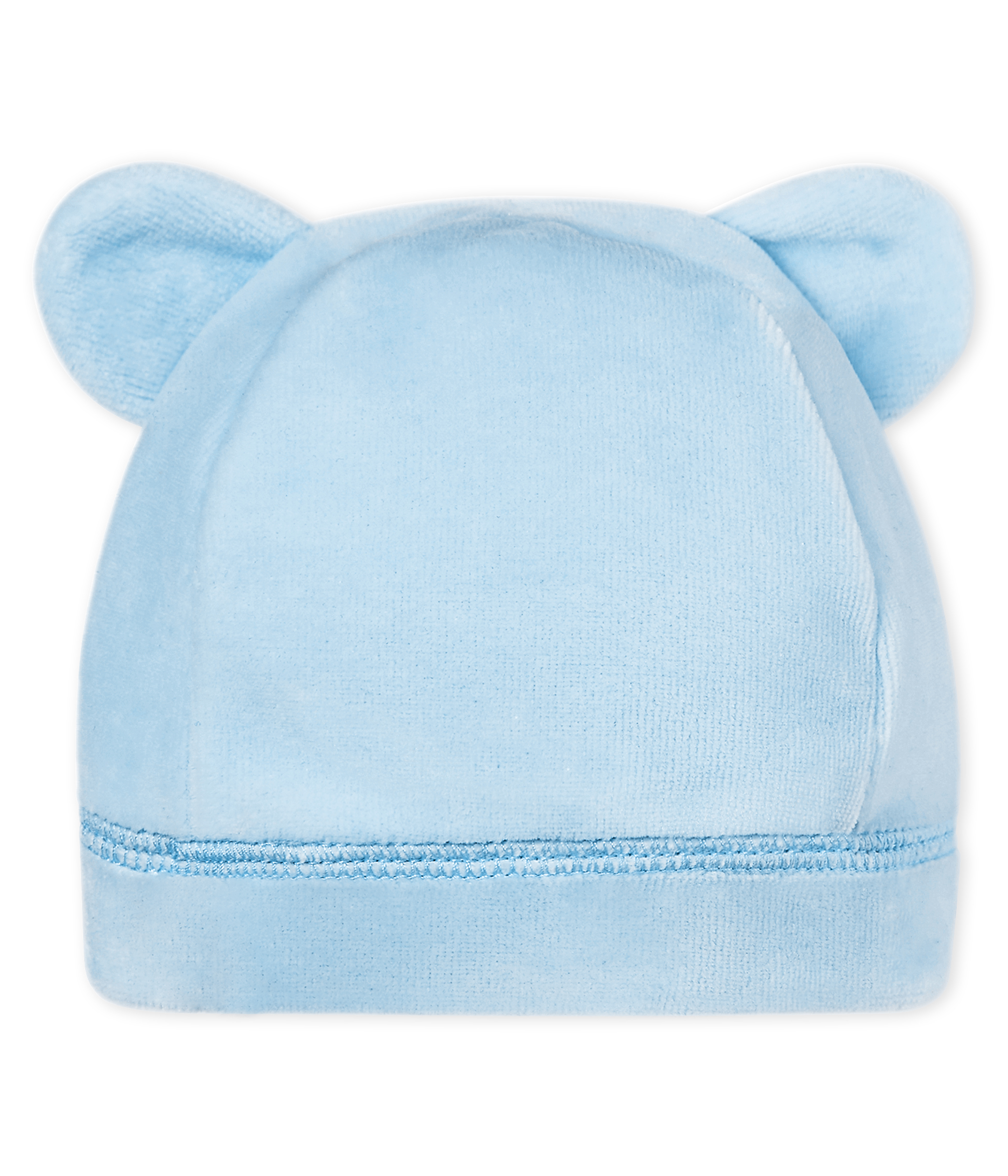 c227bf0485b Unisex newborn baby velour bonnet