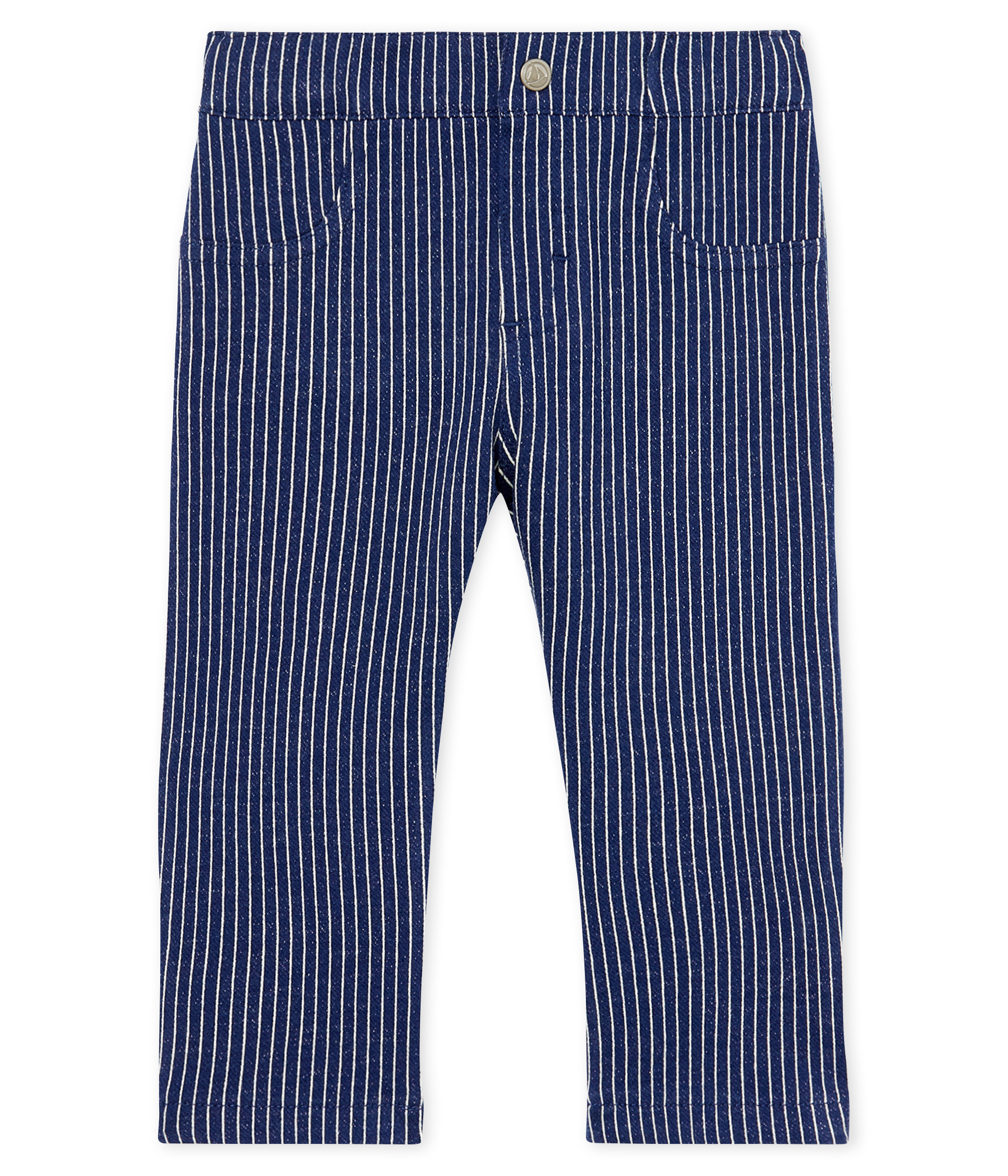 Baby Boys' Striped Knit Trousers