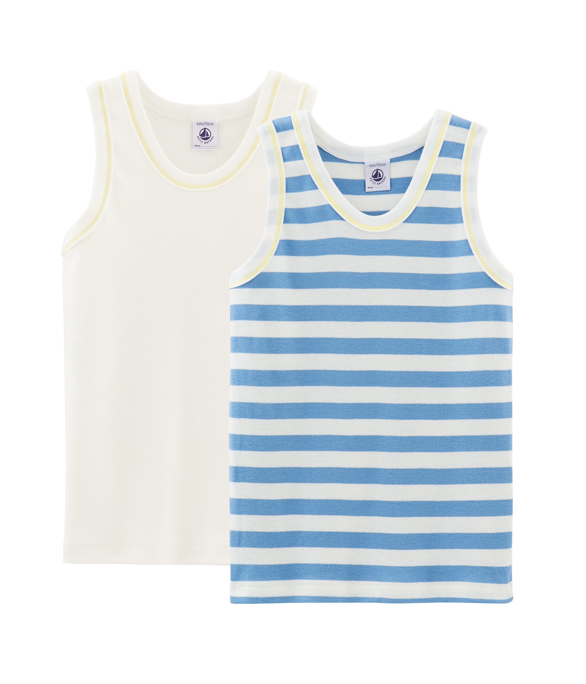 Petit Bateau Boys 5447300 Vest 12 Years Variante 1 Zga Multicolour