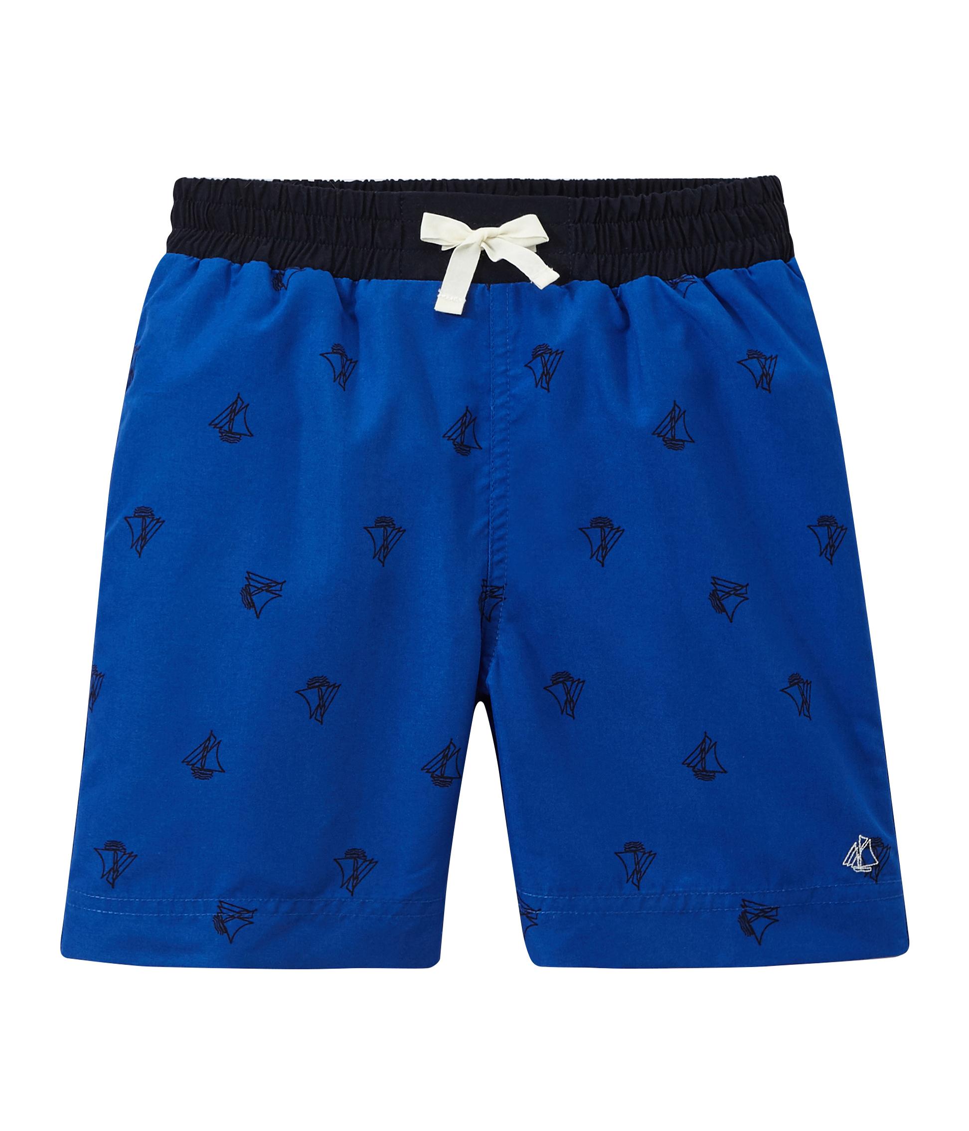 d818645ea8 Boys' printed swim shorts | Petit Bateau