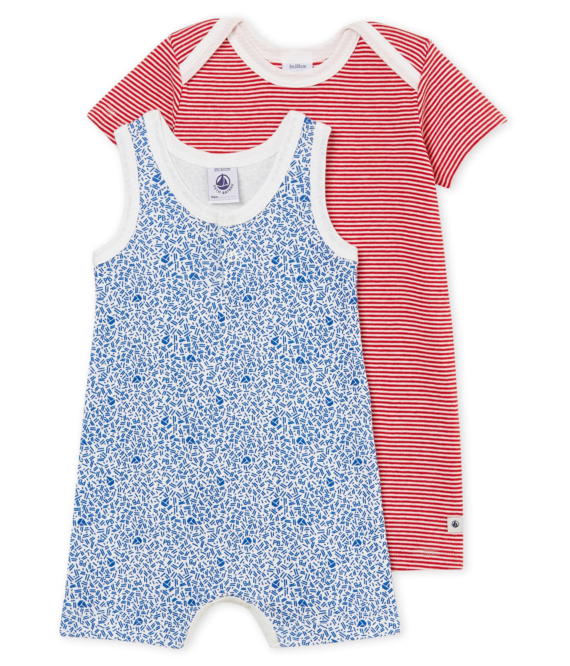 aaa6f127b9b31 Baby Boys' Shortie - Set of 2 | Petit Bateau
