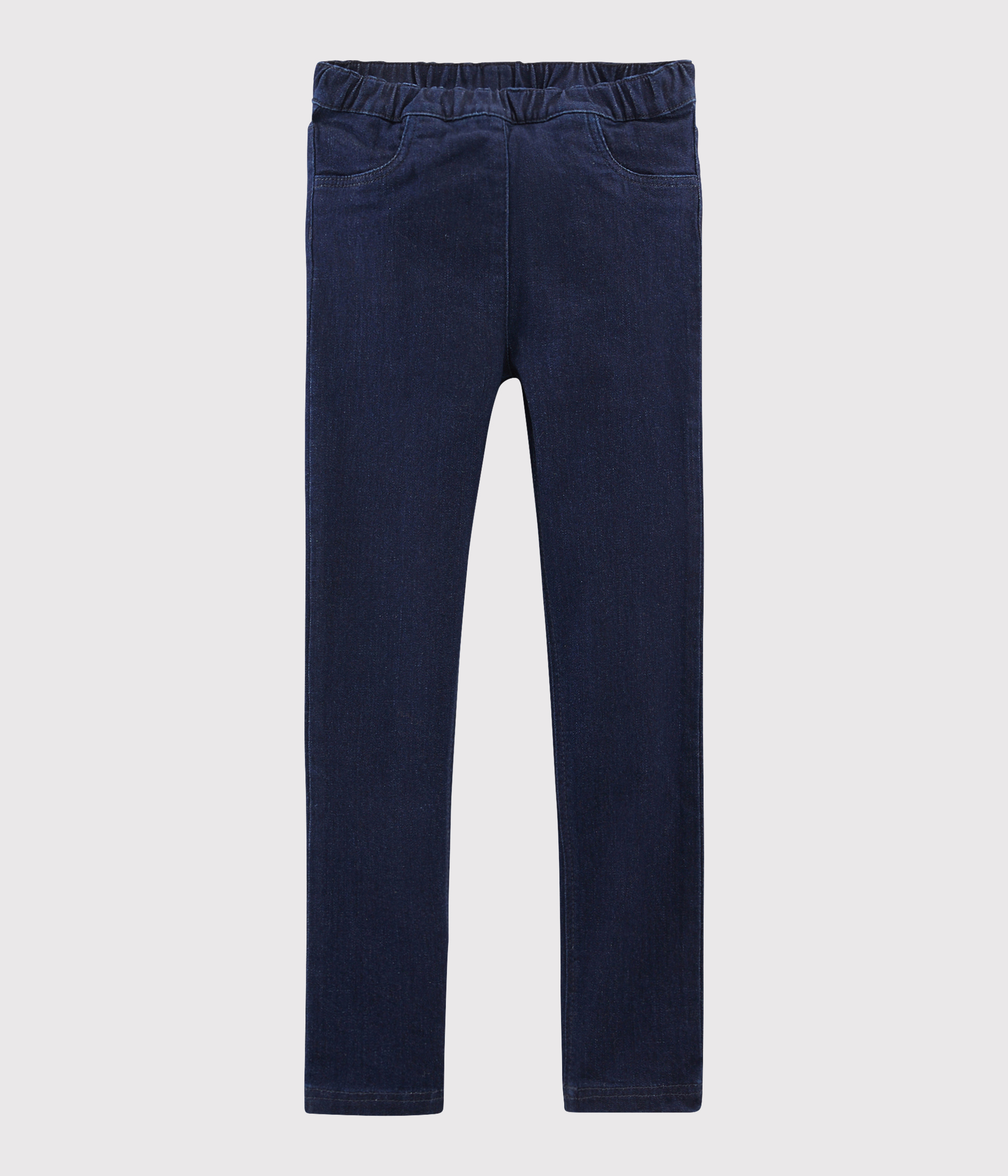 Girls' Denim Slim-Fit Trousers
