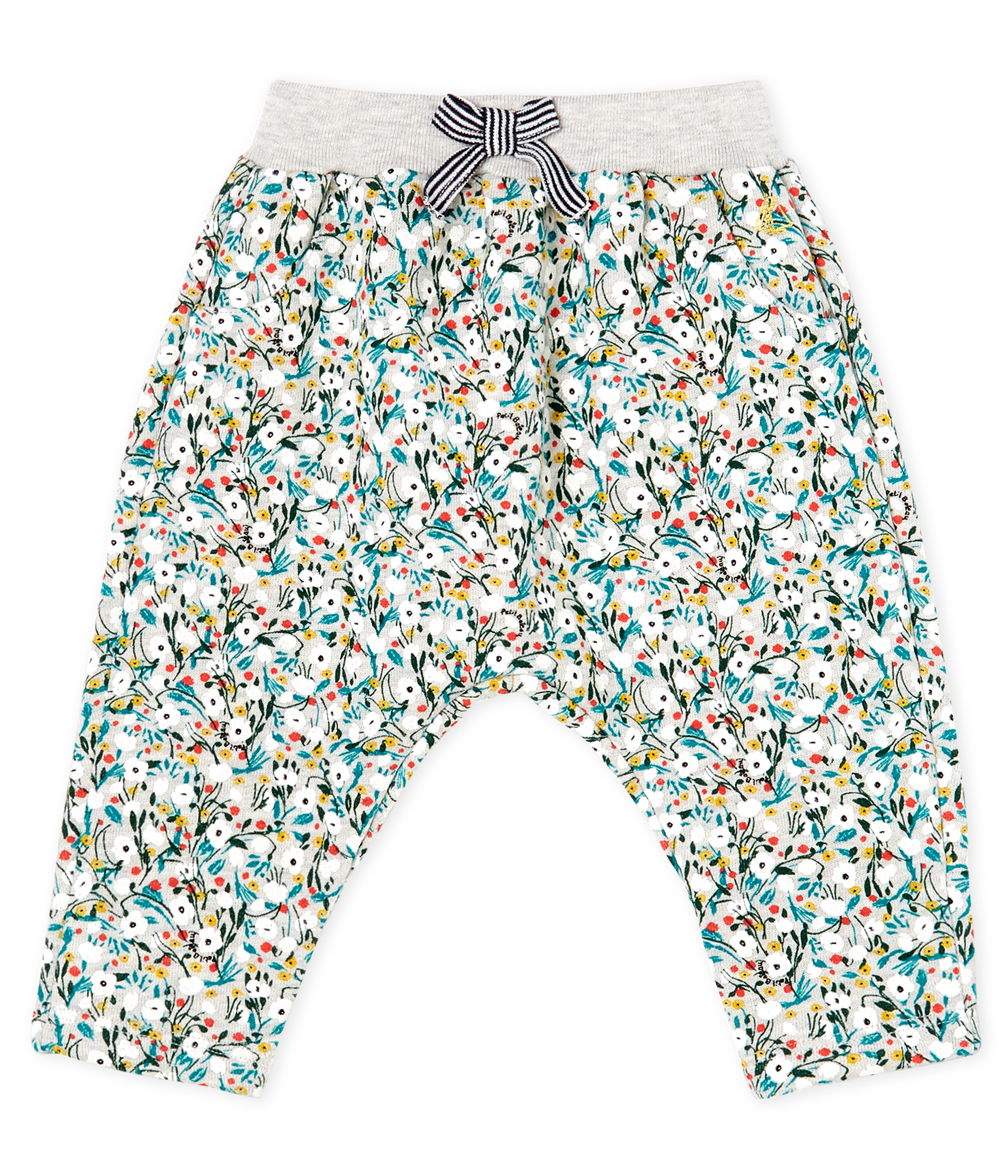Baby Girls' Printed Fleece Trousers