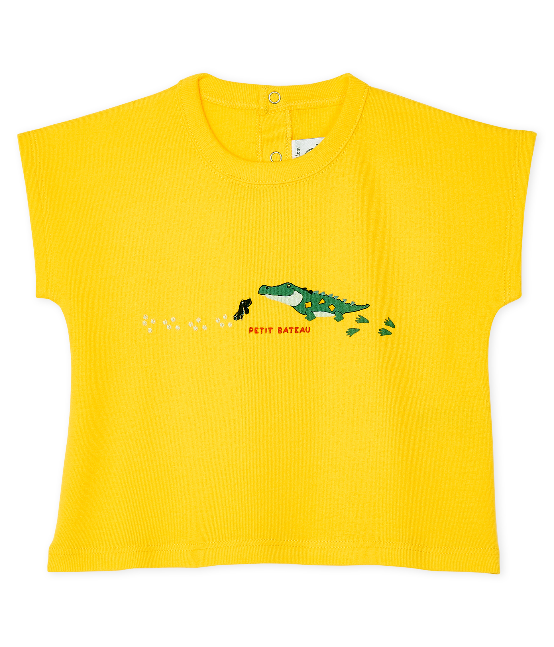 Short-sleeved T-shirt for baby boys
