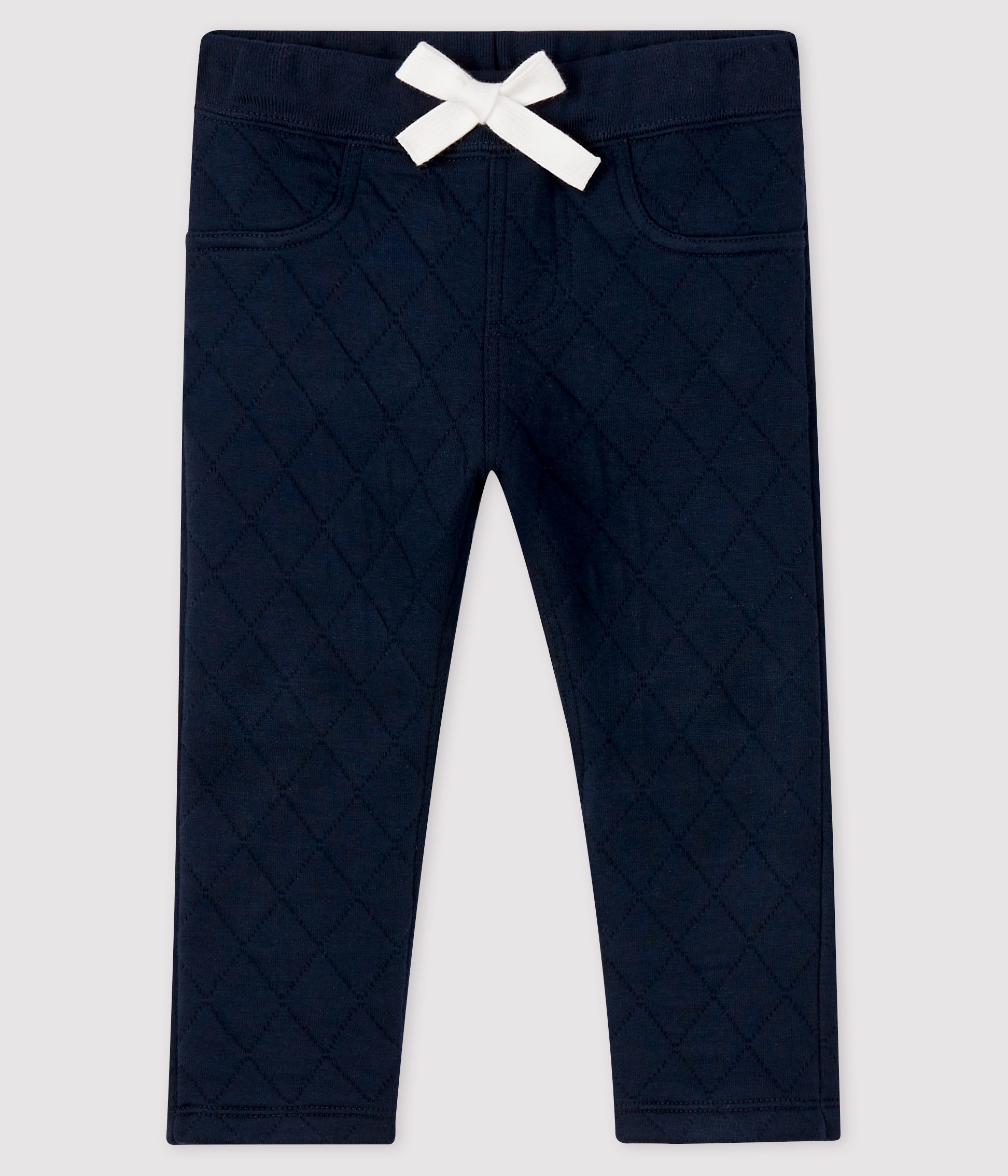 Baby boy's tube knit trousers