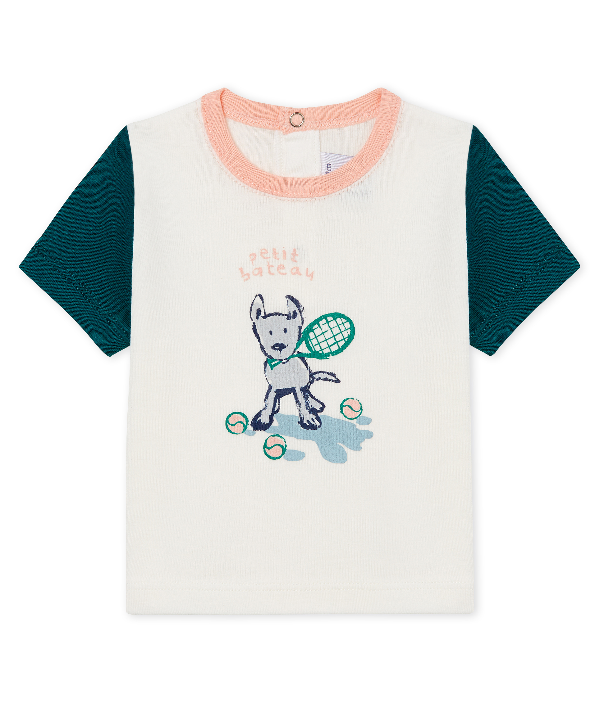 Baby boys' t-shirt with motif