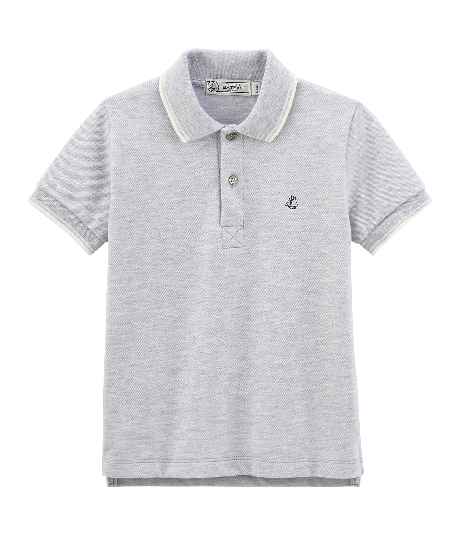 93f3641eda Boys' Short-sleeved Polo Shirt | Petit Bateau