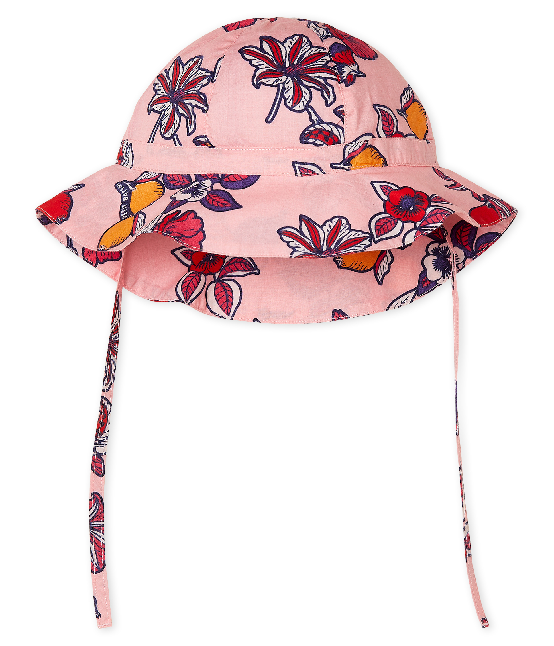 Wide-brimmed hat for baby girls