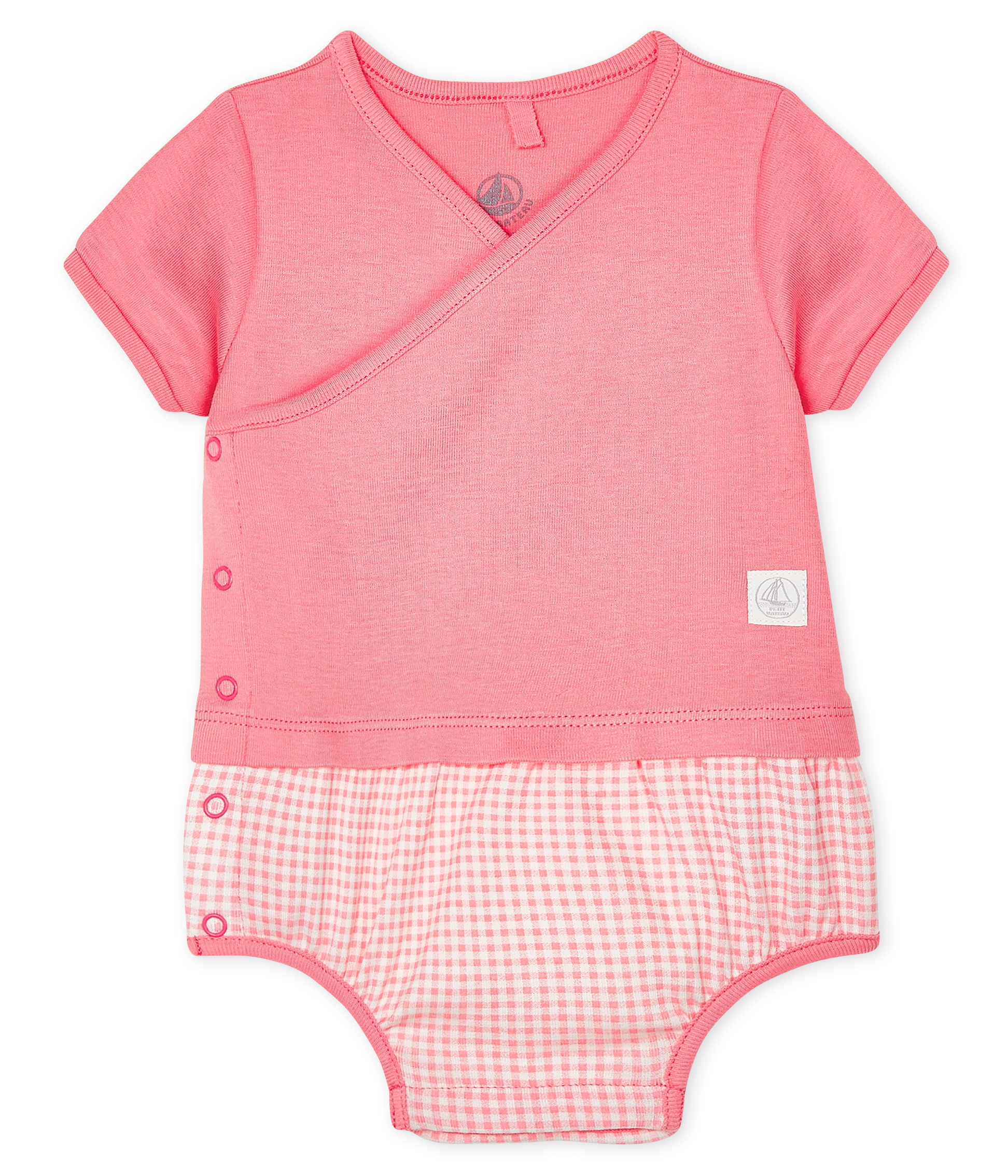 Babies' Mock Two-Piece Playsuit
