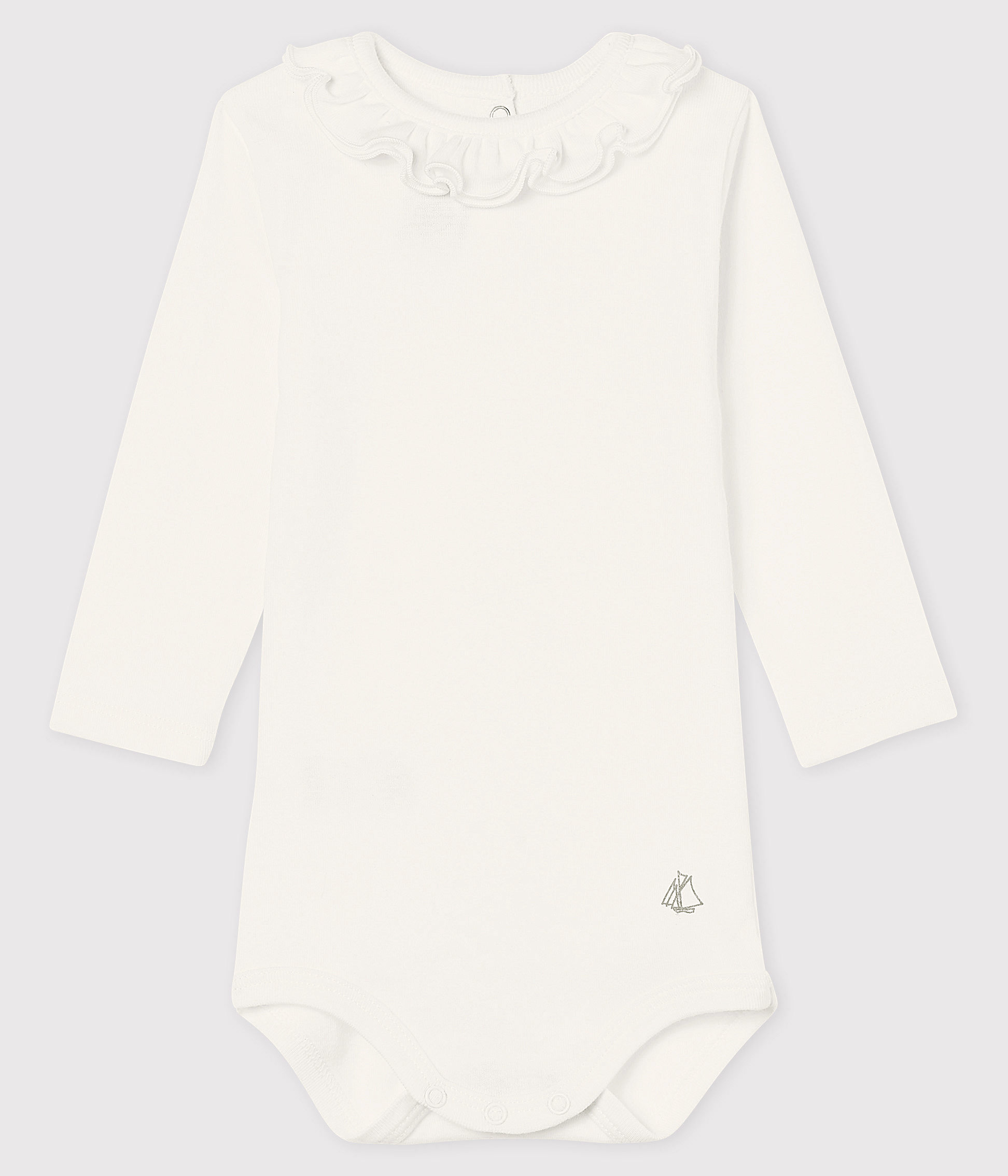 Baby girl's long-sleeved bodysuit