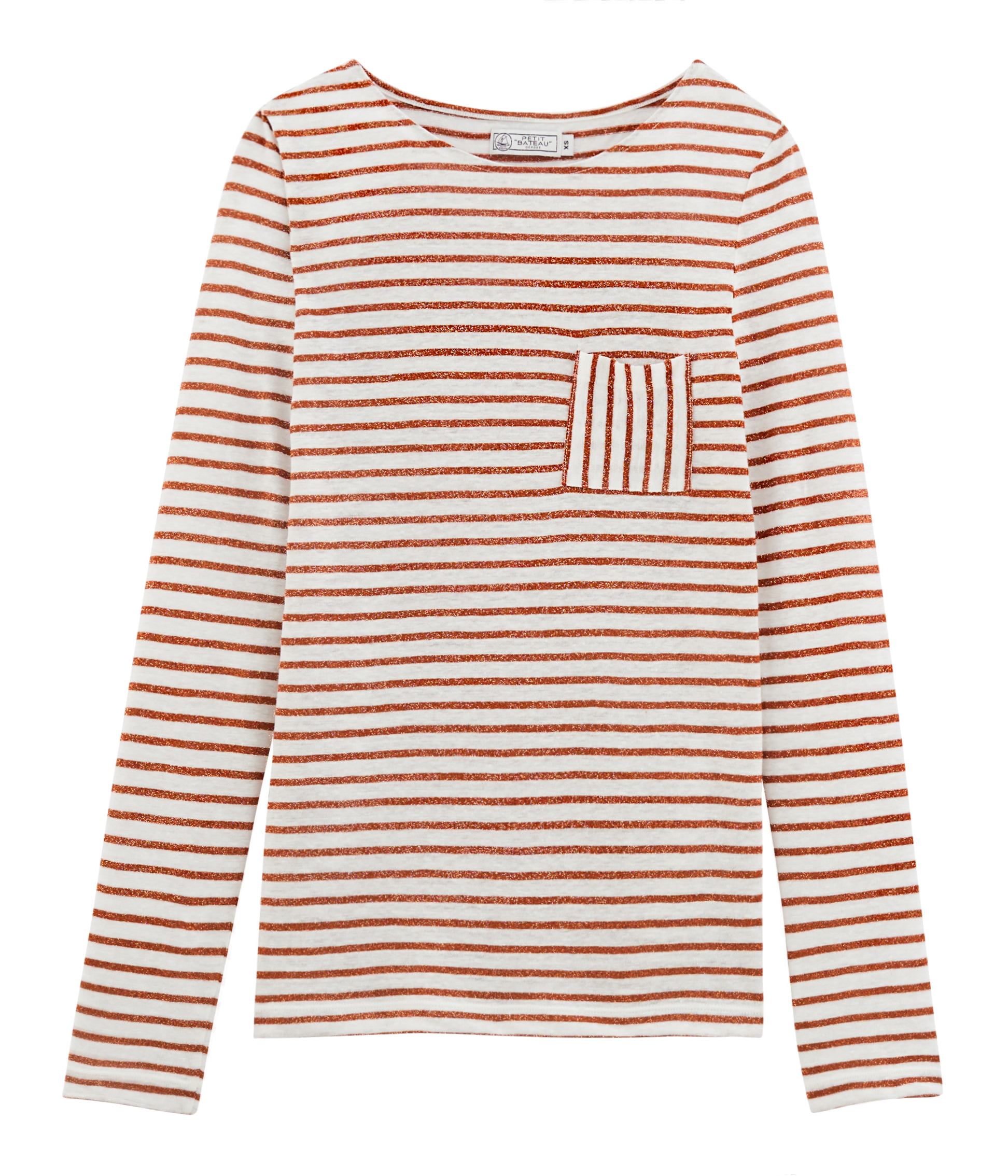 ce35878b577 Women's long-sleeved iconic linen t-shirt | Petit Bateau