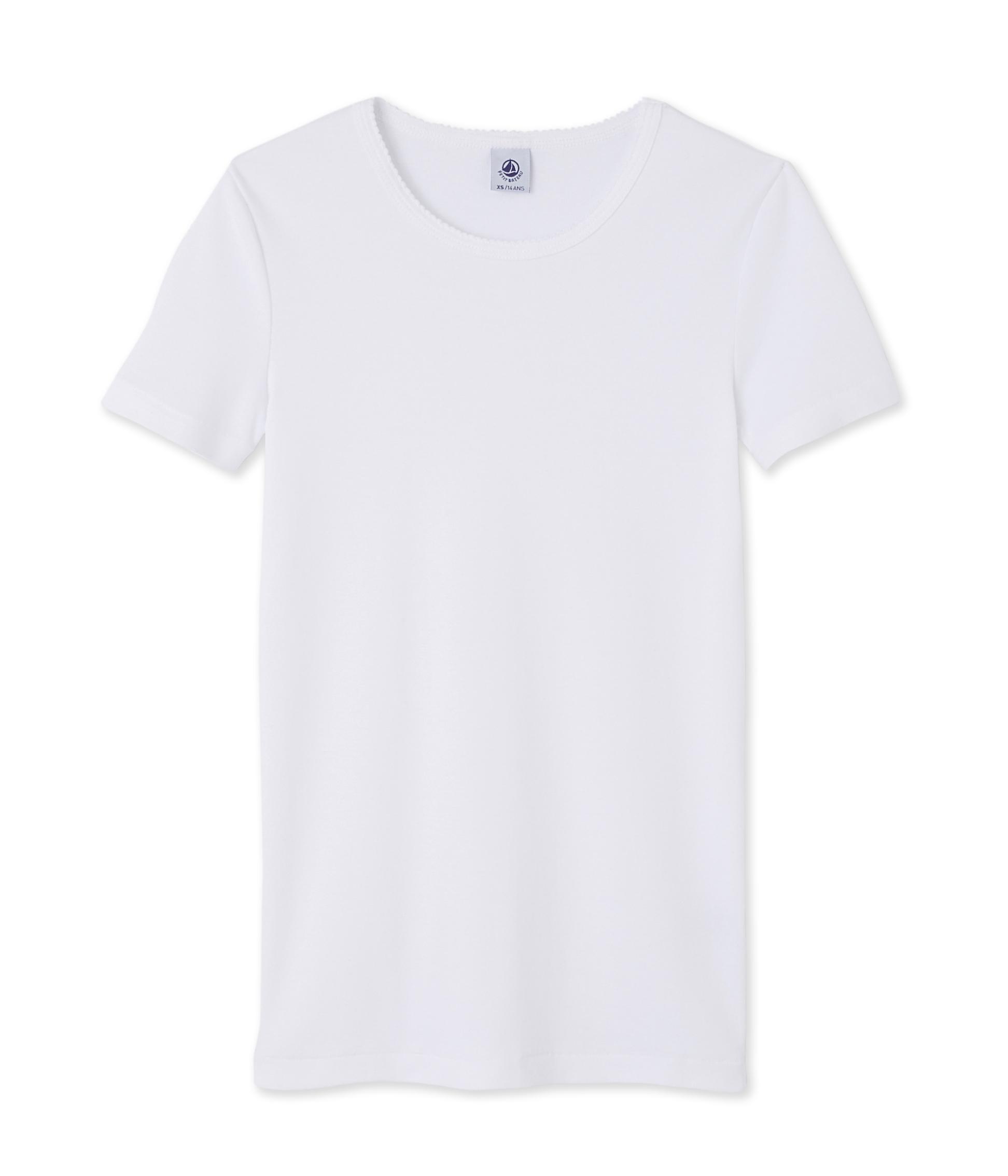 5267ade1 Women's short-sleeved plain t-shirt | Petit Bateau