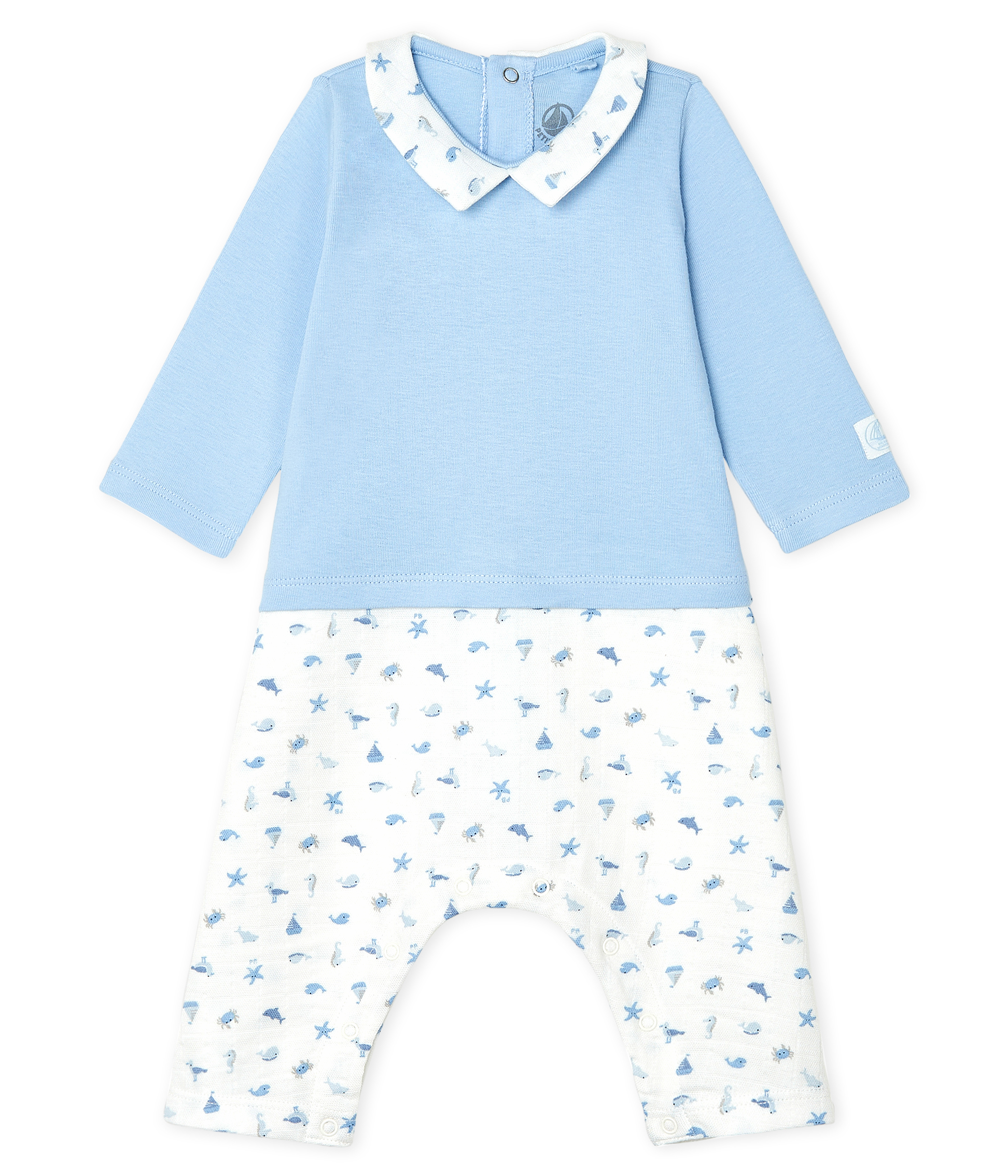 Baby Boys' Long Bodysuit