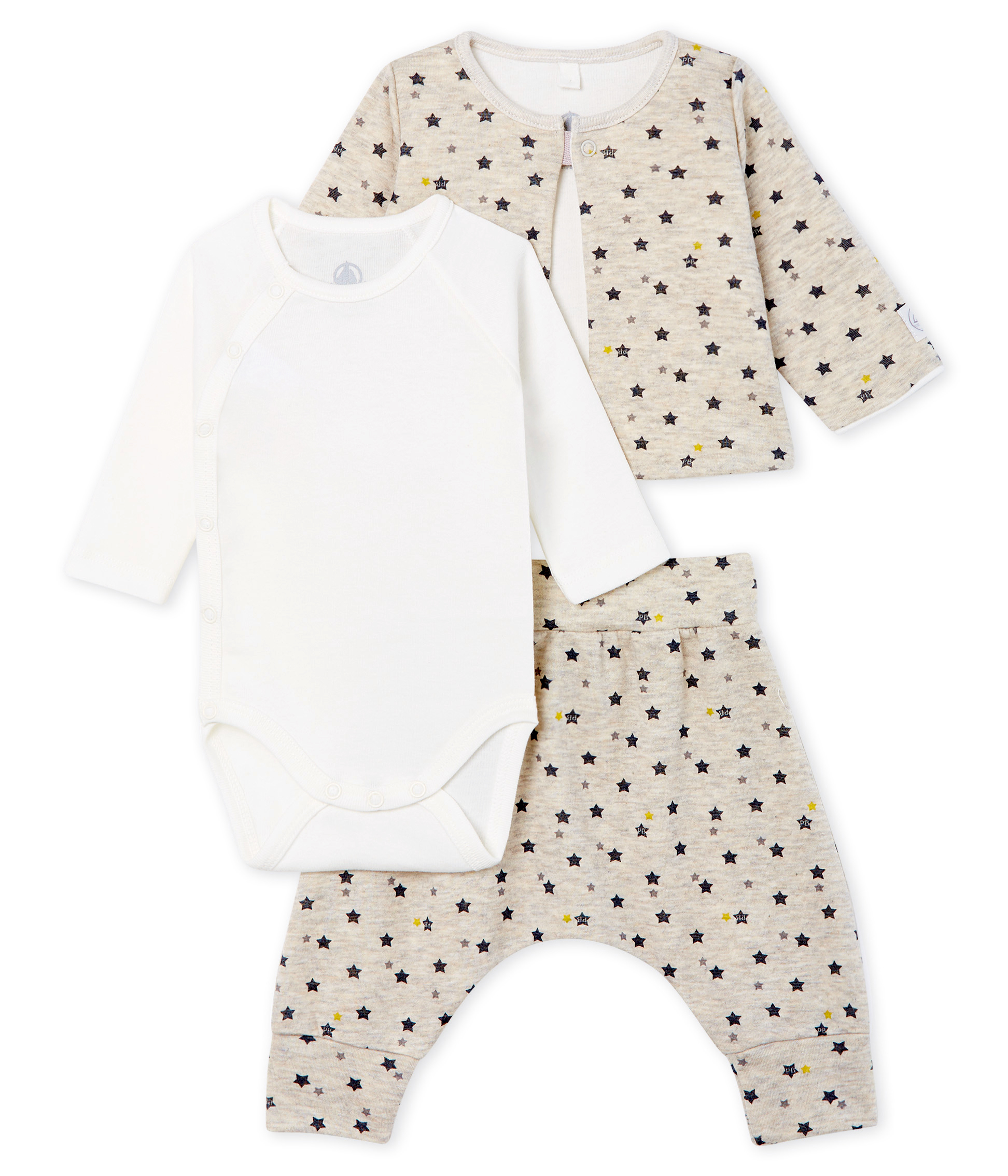 Baby Boys' Wool/Cotton Clothing - 3-piece set