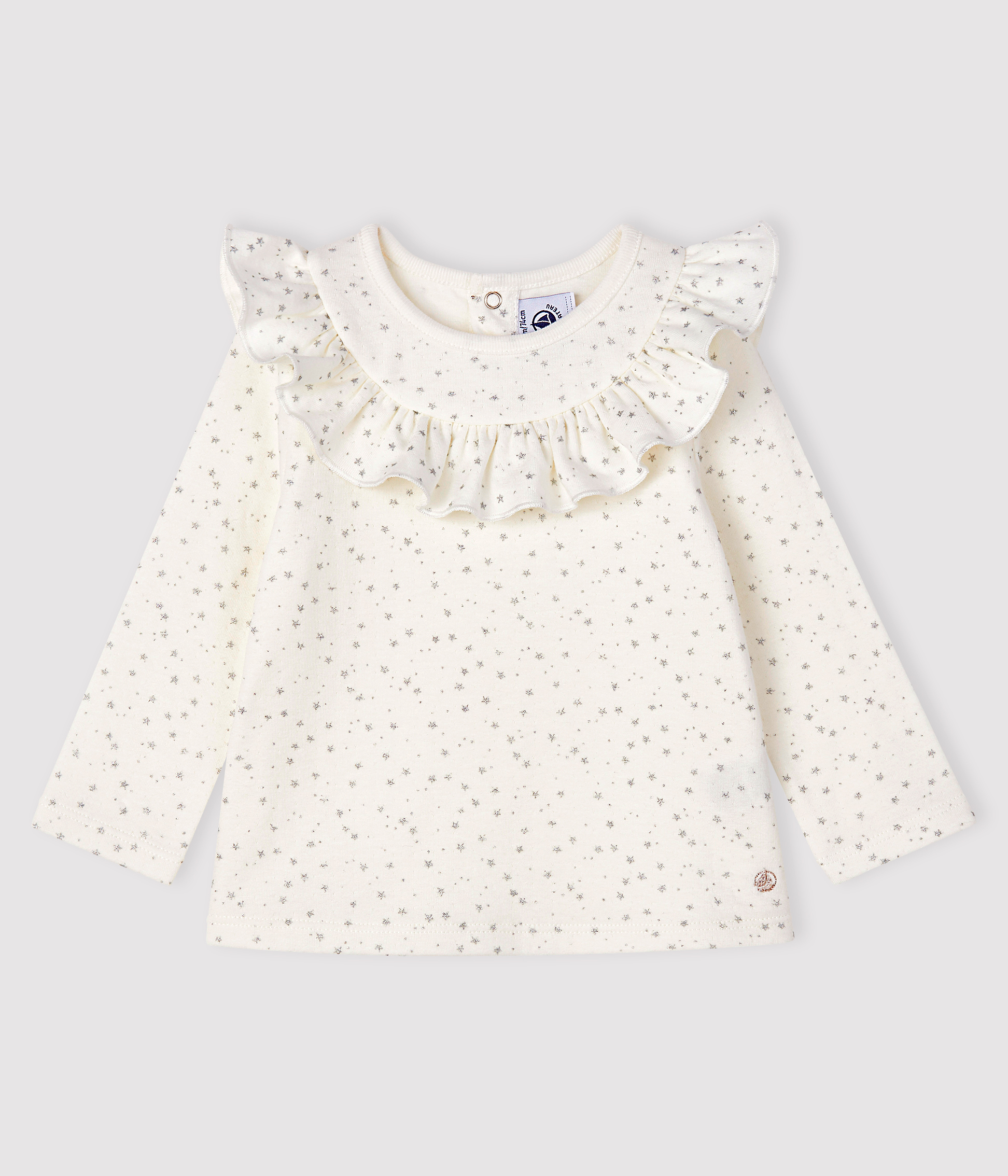 Baby girl's long-sleeved blouse