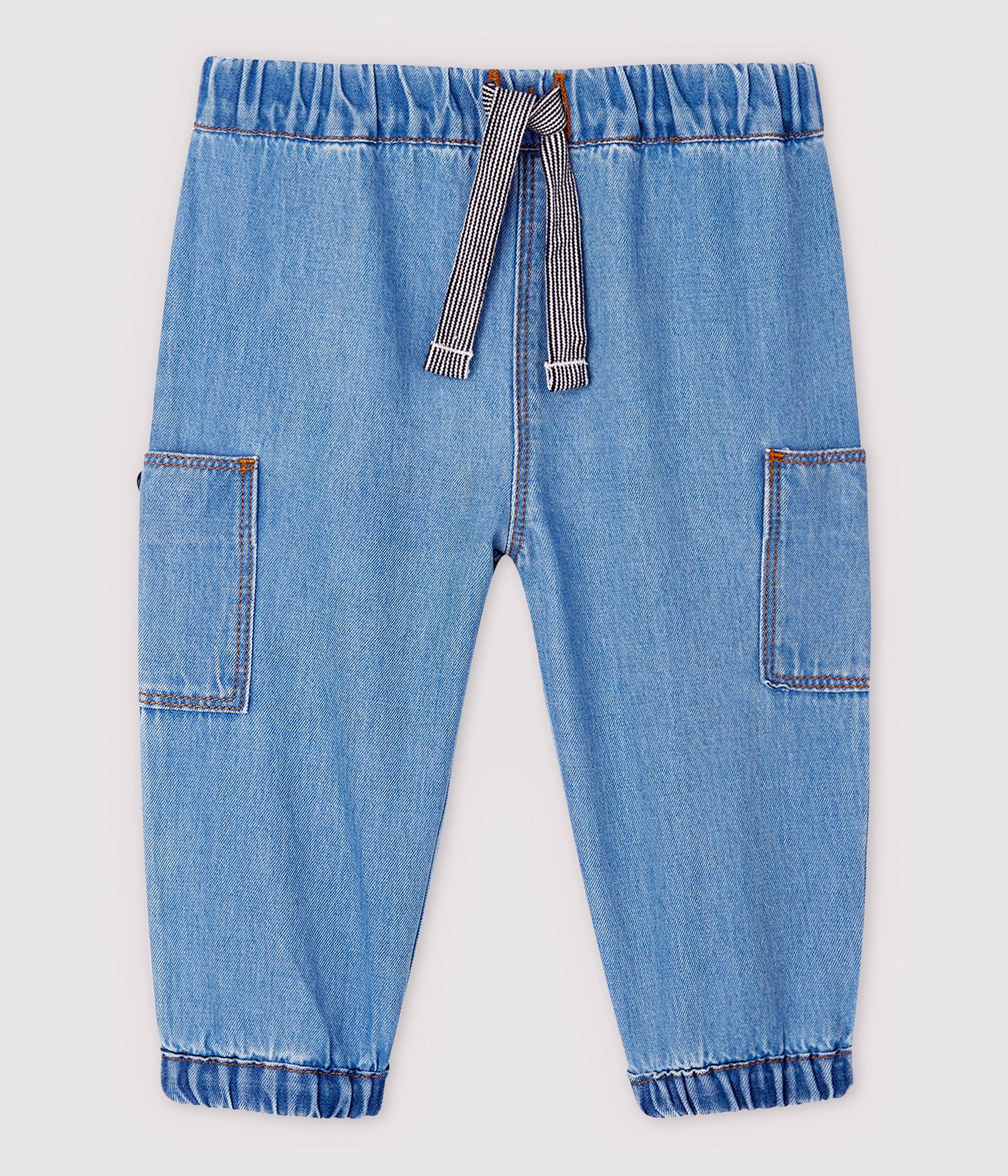 Baby Boys' Light Denim Trousers