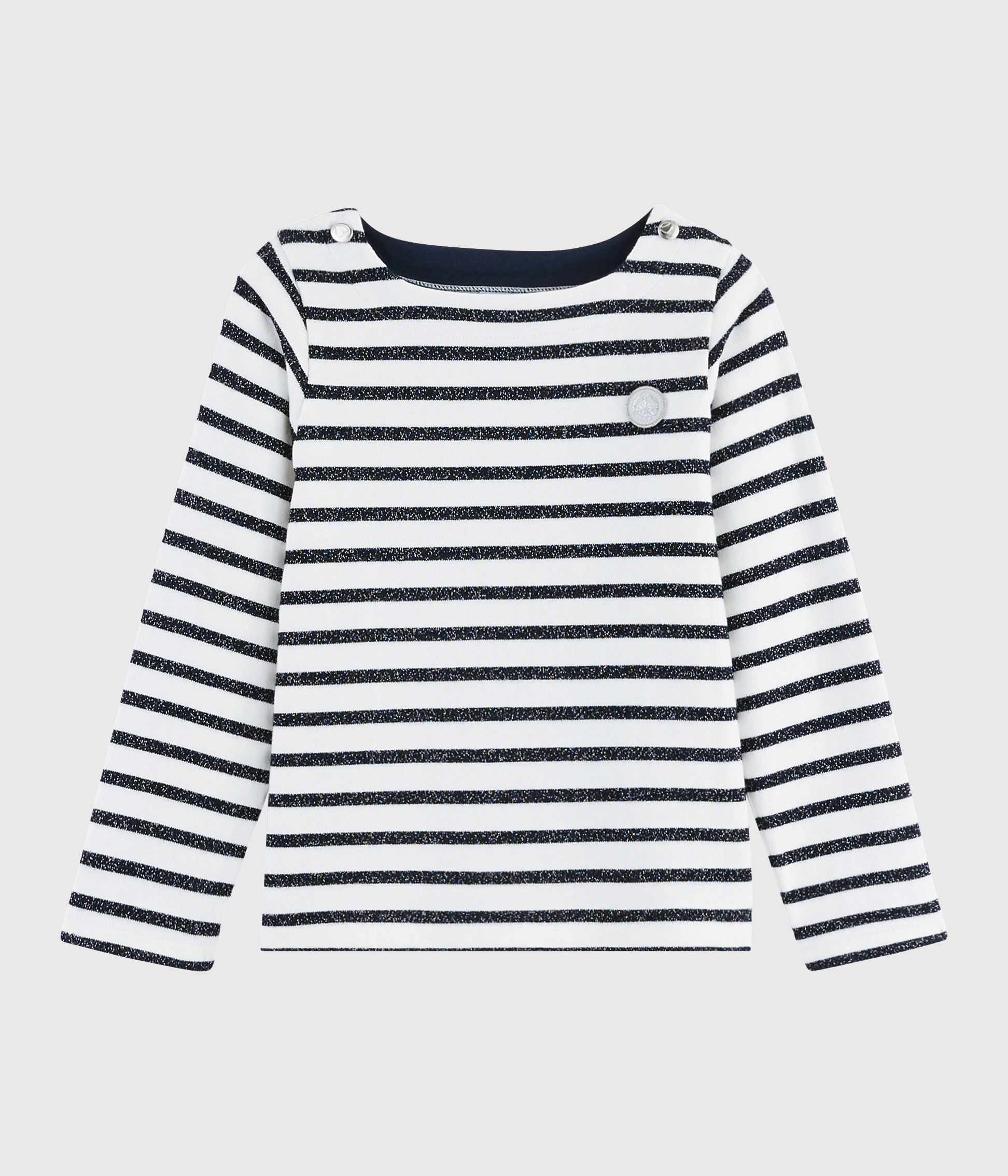 Girls' Jersey Sailor Top